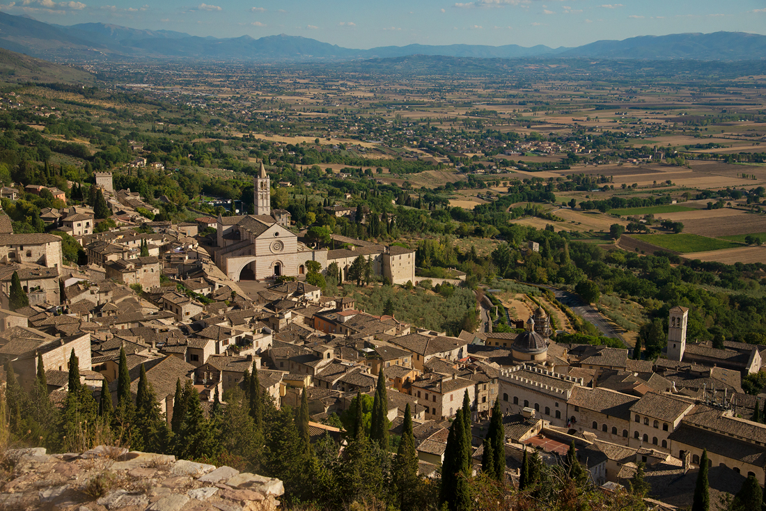 Claire Gunn Italy 2017 Assisi