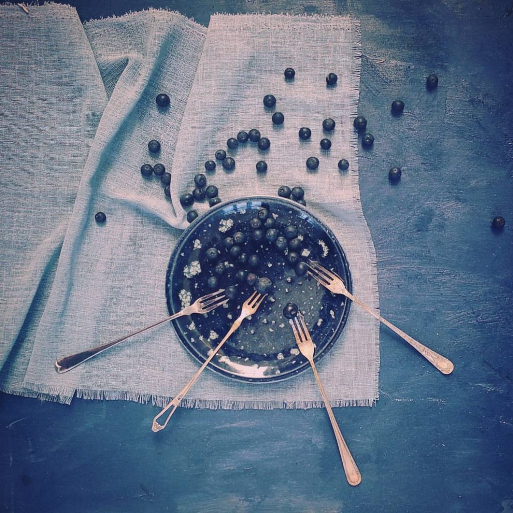 blueberries and forks claire gunn