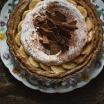 Claire Gunn Peanut butter and salted caramel banoffee pie